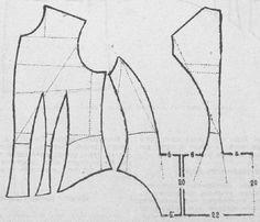 Le Moniteur de la Mode 1884.: Basque bodice with curved peplum.
