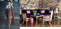 Louis Vuitton Fall 2013 RTW and Elle Decor