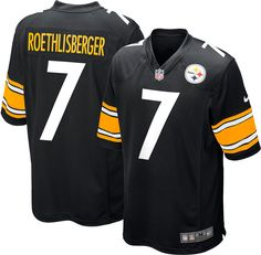 493bcf73d Nike Men s Ben Roethlisberger Jersey – Home Game Pittsburgh Steelers