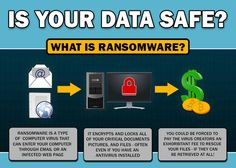 What Is Ransomware? Ransomware uses a virus to infiltrate a system. Files and other data are locked until payment is received. Last year a similar attack infiltrated systems used by American hospitals, causing thousands to be paid out in ransom.  Cyber security experts suggest making sure your Windows machine and all your anti-virus software was up to date.  99 Countries affected by RANSOMEWARE CYBERATTACK  According to security experts, it exlpoited a vulnerability that was disoverd and…