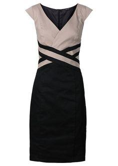 sukienka-czarno-bezowy.jpg (427×600)