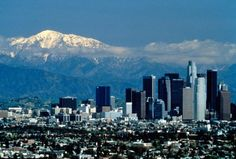 This article covers how to live cheaply (or at least cheaper) in Los Angeles. California Tours, California Dreamin', Los Angeles California, Los Angeles Skyline, Downtown Los Angeles, City Of Angels, Wonderful Places, San Francisco Skyline, Places To See