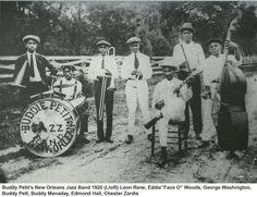 4. Buddie Petit's Jazz Band, 1920