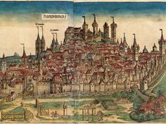 What did cities look like in the Middle Ages? How did medieval people depict them? Here are a few examples from the Middle Ages