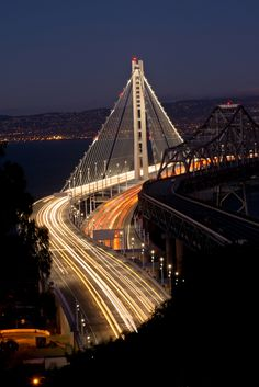 ... #San #Francisco New Bay #Bridge I hate driving over bridges but I will