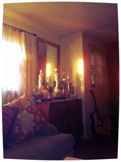 living evening decor
