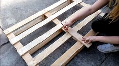 Pallet Coffee Table - VIDEO