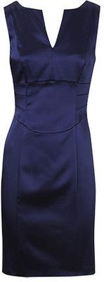 I need this dress!!!! Oasis Occasionwear - navy corset seamed dress.  $140 but out of stock.
