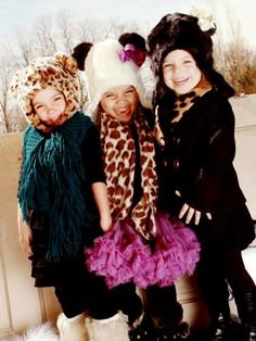 Born to Love Clothing - Kids Leopard Print Faux Fur Hat | VAULT