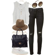 """""""outfit for a casual lunch"""" by im-emma on Polyvore"""