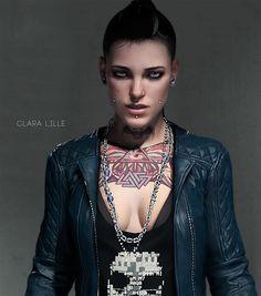 Clara Lille / Watch Dogs #WatchDogs #Hackers #Dedsec #Blume #Hackers #Sandbox #shooter #ClaraLille
