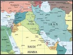 Image result for middle east map -+