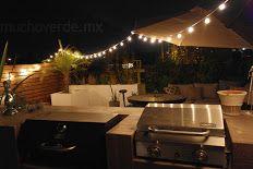 Roof top patio mucho verde - TECHOS VERDES/TERRAZAS Y JARDINES Arq. Jorge Ordoñez