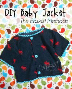 DIY baby jacket, the