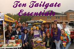 here is my list of ten essential items that you need for any tailgate party #PreppyPlanner