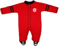 Official Bradley Braves Sports Shoe Footed Romper