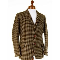 Vintage tweed jacket w/ ticket pocket mens 42R @ Tweedmans Vintage ...