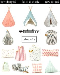 Nobodinoz Accesoires just arrived and online!