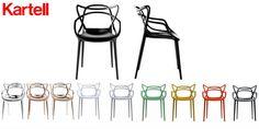 Masters-tuoli, värilliset
