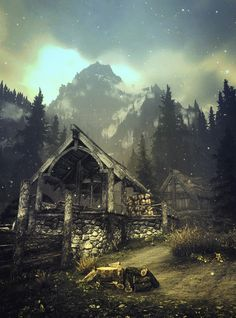 Would love to live in Skyrim