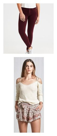 """""""Justine Underwood's Closet (part one)"""" by sunshineadrenaline ❤ liked on Polyvore featuring pants, leggings, red, jeggings leggings, stretch denim leggings, stretch jeggings, red pants, stretchy jeggings, tops and floral"""