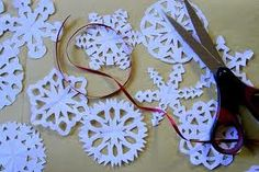 FREE Snowflake Templates to Cut!