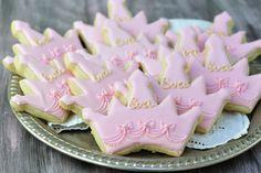 princess crown cookies by Haniela
