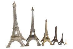 Eiffel Tower Souveniers, S/6 by #european4you