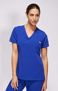 Winters and Springs women's catarina one-pocket scrub top – FIGS