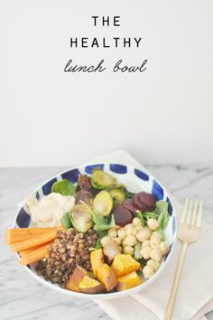 In The Kitchen: The Healthy Lunch Bowl (and my cleanse)