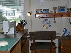 My sewing area.