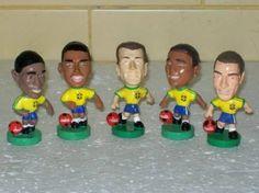 Mini Craques Brinquedo Antigo Bonecos Coca Cola 5 Anos 90 - R$ 34,00