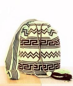 MINT MACUIRA WAYUU MOCHILA BAG by lucy