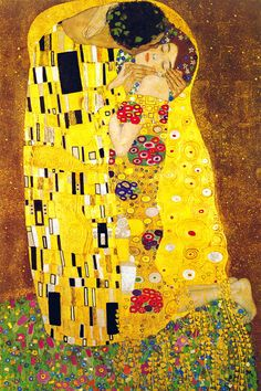 """The Kiss"" - canvas print by Gustav Klimt"