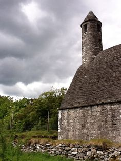 An old church in the Wicklow mountains