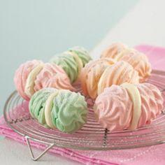 Multicolored Meringues