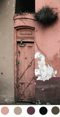 This dusty pink door surely guards a secret don't you think? I'll knock. Are you coming in with me? There's safety in numbers you know.