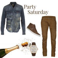 Party Saturday 4 men!