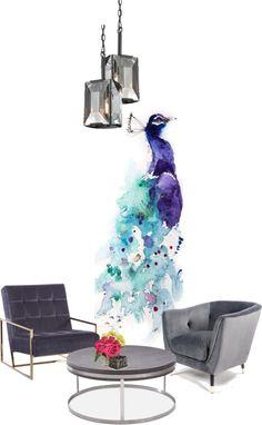 Kat's Interior design: violet