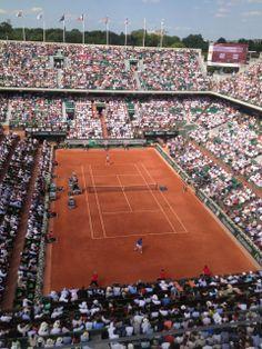 Stade Roland Garros à Paris