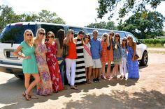 Fredericksburg Limo & Wine Tours #Bridal party @ William Chris Vineyards