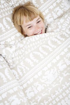 Textile design by Saana Ja Olli #bedding