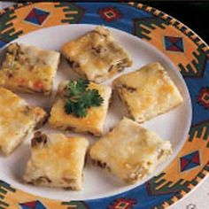 Chili Relleno Squares - Use Ortega chilis to create this amazing appetizer! www.ortega.com