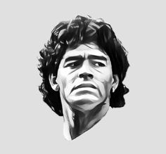 Maradona Tattoo, Chelsea Wallpapers, Sid And Nancy, Diego Armando, Arte Pop, Cultura Pop, Star Wars, Cool Posters, Soccer Players