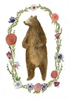 """ciara, you remind me of a bear."" -heather."
