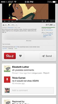 Ohh Pinterest comments:)