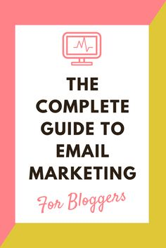 Who says email marketing has to be complicated? Get The Complete Guide To Email Marketing Free! And start growing your list! - compete guide to email marketing for bloggers - list building - optins- lead magnet subscribers grow your list network mailing list.