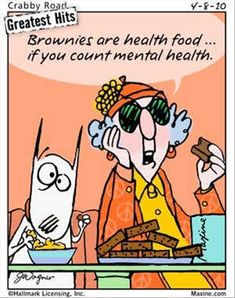 ❥ brownies~ mental health food {especially during THAT time of month!}