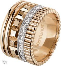 Brilliant Luxury * Haute Joaillerie ~ Boucheron Paris ~ Quatre Radiant Edition Large Ring