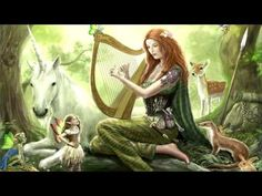 Probably the most iconic and well known Irish symbol in the world. The Irish harp has been around through the decades and I explain the history behind it. Celtic Druids, Celtic Music, Pagan Music, Celtic Thunder, Mystique, Meditation Music, Meditation Youtube, Relaxing Music, Funny Dogs